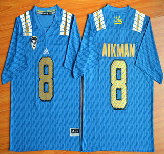 UCLA Bruins #8 Troy Aikman Blue 2015 College Football Jersey