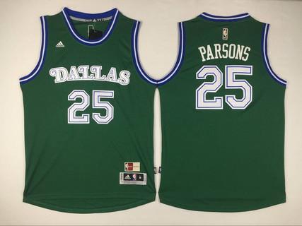 Men's Dallas Mavericks #25 Chandler Parsons Revolution 30 Swingman 2015-16 Green Jersey