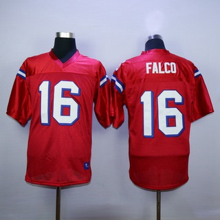 Men's The Movie The Replacements #16 Shane Falco Red Football Jersey