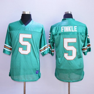 Men's The Movie Ace Ventura #5 Ray Finkle Teal Green Football Jersey
