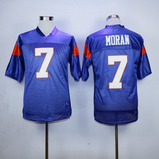 Men's The Movie Blue Mountain State #7 Alex Moran Purple Football Jersey