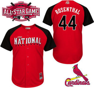 National League St. Louis Cardinals #44 Trevor Rosenthal 2015 MLB All-Star Red Jersey