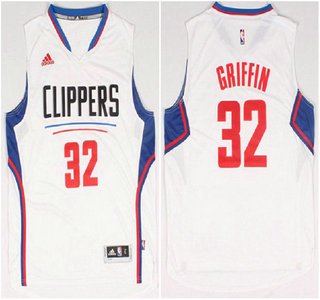 Los Angeles Clippers #32 Blake Griffin Revolution 30 Swingman 2015 New White Jersey