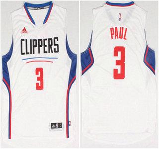 Los Angeles Clippers #3 Chris Paul Revolution 30 Swingman 2015 New White Jersey