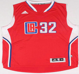 Los Angeles Clippers #32 Blake Griffin Revolution 30 Swingman 2015 New Red Jersey