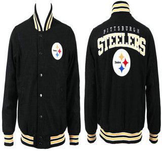 Pittsburgh Steelers Black Jacket FG