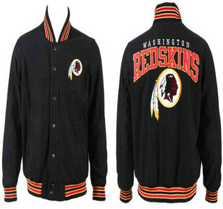 Washington Redskins Black Jacket FG