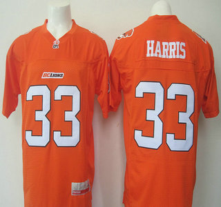 CFL BC Lions #33 Andrew Harris White Jersey