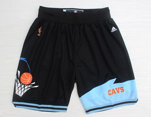 Men's Cleveland Cavaliers Black Throwback Short