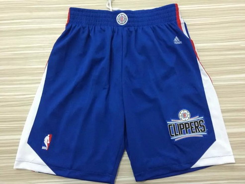 Men's Los Angeles Clippers 2015-16 Blue Short