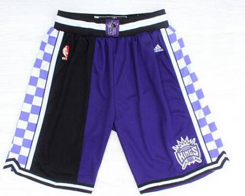 Men's Sacramento Kings 2015 PurpleBlack Short