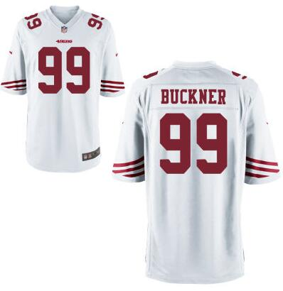 Youth San Francisco 49ers #99 DeForest Buckner Nike White 2016 Draft Pick Game Jersey