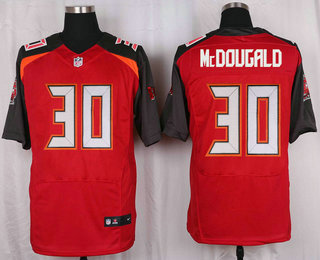 Men's Tampa Bay Buccaneers #30 Bradley McDougald Red Team Color NFL Nike Elite Jersey