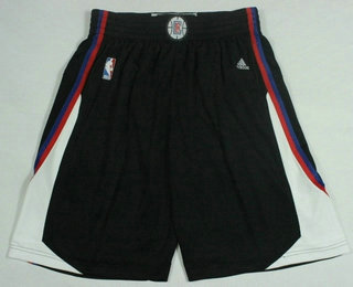 Men's Los Angeles Clippers Black Swingman Shorts