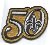 New Orleans Saints 50th Anniversary Patch