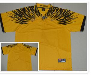 Custom Men's Oregon Ducks Yellow Electric Lightning Stitched College Football 2016 Nike NCAA Jersey
