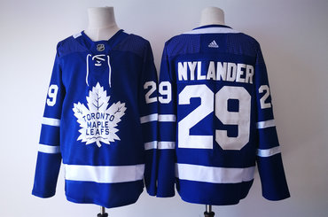 Men's Toronto Maple Leafs #29 William Nylander Royal Blue Home 2017-2018 Hockey Stitched NHL Jersey