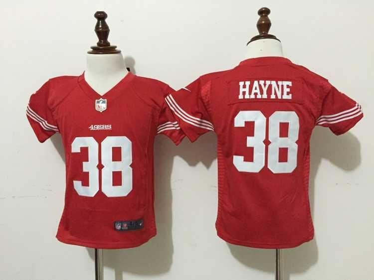 Nike San Francisco 49ers #38 Jarryd Hayne Red Toddlers Jersey
