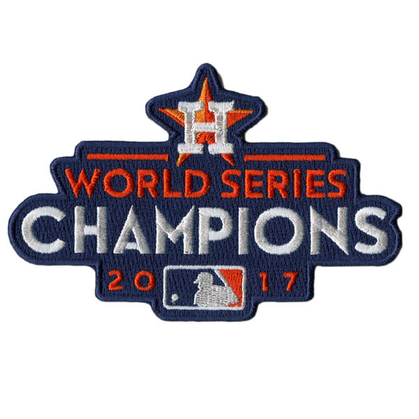 Stitched 2017 MLB World Series Champions Houston Astros Jersey Patch