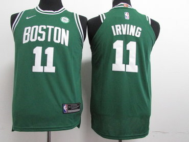 Nike Celtics #11 Kyrie Irving Green Nike Stitched Youth NBA Jersey
