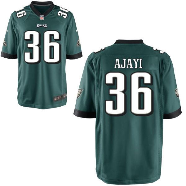 Mens Philadelphia Eagles #36 Jay Ajayi Nike Elite Midnight Green Jersey