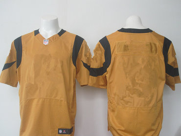 Men's Los Angeles Rams Nike Gold Color Rush Blank 2015 NFL Elite Jersey