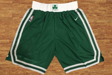 Men's Boston Celtics Green Nike NBA Shorts