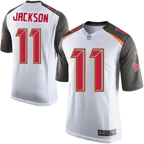 Youth Nike Tampa Buccaneers #11 DeSean Jackson White Stitched NFL New Elite Jersey