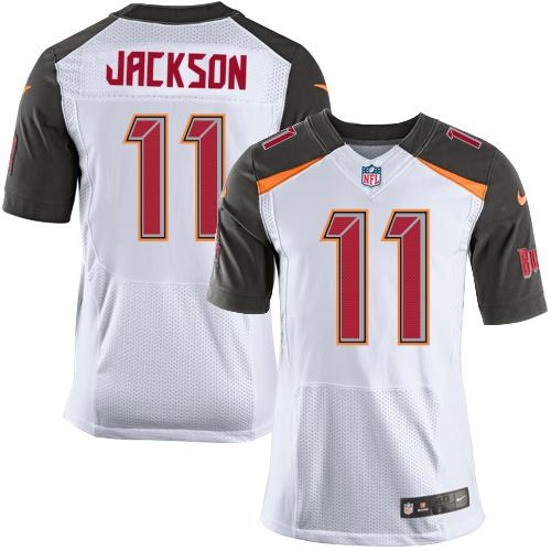 Nike Buccaneers #11 DeSean Jackson White Men's Stitched NFL New Elite Jersey