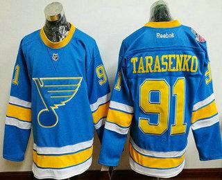 Men's St. Louis Blues #91 Vladimir Tarasenko Blue 2017 Winter Classic Stitched NHL Reebok Hockey Jersey