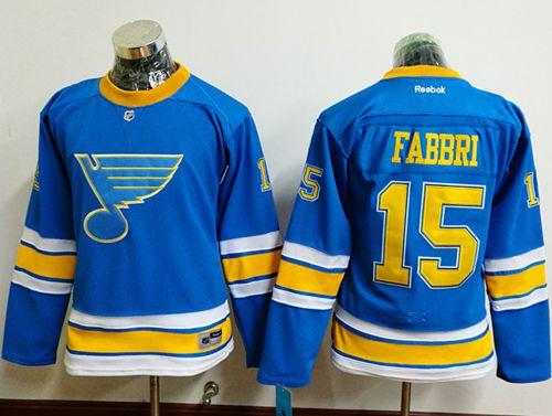 Blues #15 Robby Fabbri Light Blue 2017 Winter Classic Women's Stitched NHL Jersey