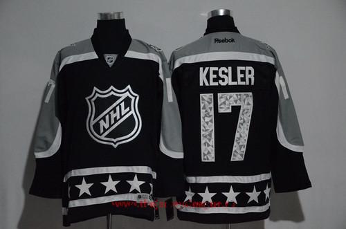 Men's Pacific Division Anaheim Ducks #17 Ryan Kesler Reebok Black 2017 NHL All-Star Stitched Ice Hockey Jersey