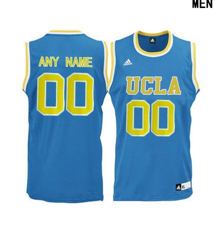 Women's UCLA Bruins Custom Adidas College Basketball Jersey - Light Blue