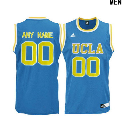 Youth UCLA Bruins Custom Adidas College Basketball Jersey - Light Blue
