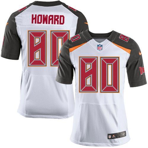 Nike Buccaneers #80 O. J. Howard White Men's Stitched NFL New Elite Jersey