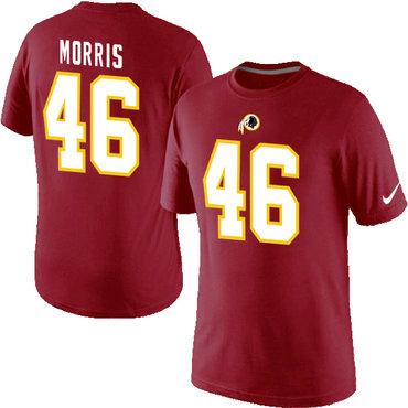 Nike Washington Redskins 46 Alfred Morris Pride Name & Number T-Shirt Red