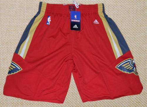 Men's New Orleans Pelicans Red Basketball Shorts