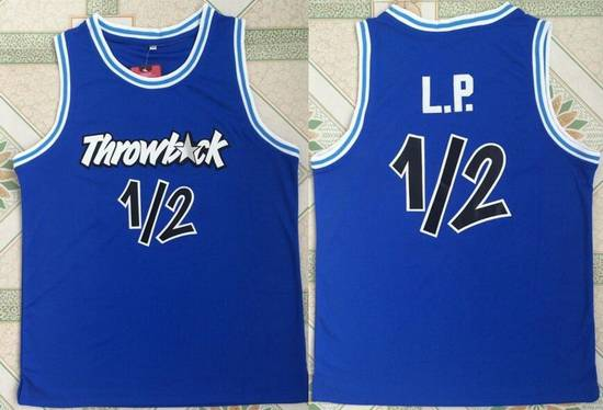 Men's Orlando Magic #1 Penny Hardaway Nickname L.P. Royal Blue Swingman Stitched NBA Basketball Jersey