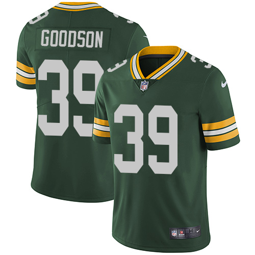 Nike Green Bay Packers #39 Demetri Goodson Green Team Color Men's Stitched NFL Vapor Untouchable Limited Jersey