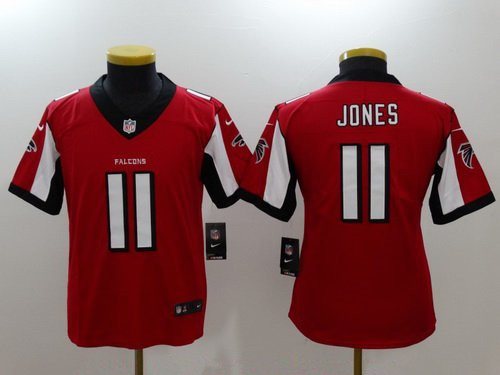 Youth Atlanta Falcons #11 Julio Jones Red 2017 Vapor Untouchable Stitched NFL Nike Limited Jersey