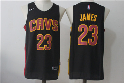 Cleveland Cavaliers #23 LeBron James Navy Nike Stitched Jersey