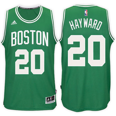Boston Celtics #20 Gordon Hayward Road Green New Swingman Jersey