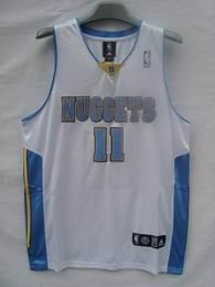 Denver Nuggets Andersen #11 white jersey