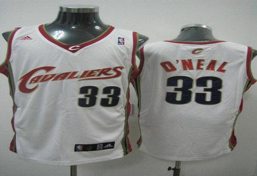 NBA JERSEYS Cleveland Cavaliers #33 LeBron Oneal Swingman white Jersey