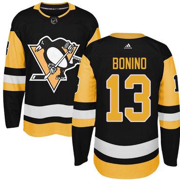 Adidas Pittsburgh Penguins #13 Nick Bonino Black Alternate Authentic Stitched NHL Jersey