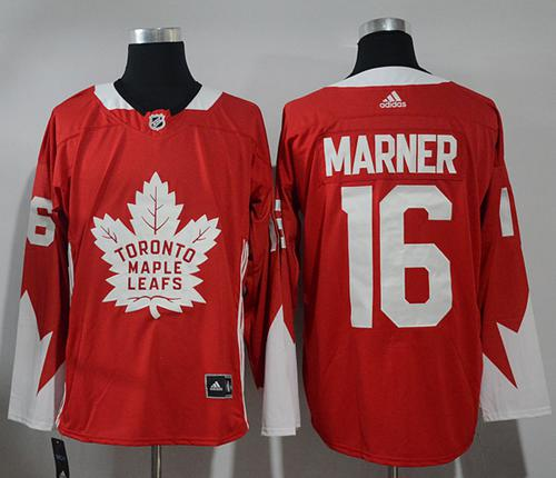Adidas Toronto Maple Leafs #16 Mitchell Marner Red Team Canada Authentic Stitched NHL Jersey