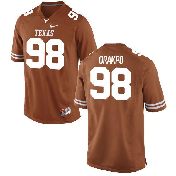 Men's Texas Longhorns 98 Brian Orakpo Orange Nike College Jersey