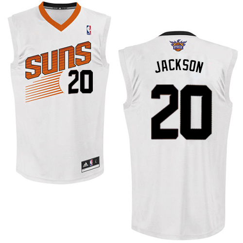 Phoenix Suns #20 Josh Jackson White Home Stitched NBA Jersey