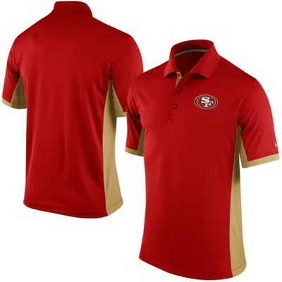 Men's San Francisco 49ers Nike Scarlet Team Issue Performance Polo