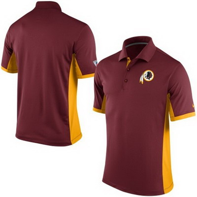 Men's Washington Redskins Nike Burgundy Team Issue Performance Polo